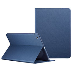 Handyhülle Hülle Stand Tasche Leder L04 für Apple iPad Mini Blau