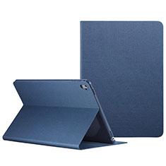 Handyhülle Hülle Stand Tasche Leder L04 für Apple iPad Pro 9.7 Blau