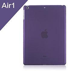 Handyhülle Hülle Ultra Dünn Schutzhülle Durchsichtig Transparent Matt für Apple iPad Air Violett