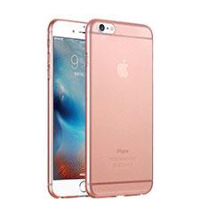 Handyhülle Hülle Ultra Dünn Schutzhülle Durchsichtig Transparent Matt für Apple iPhone 6 Rosegold