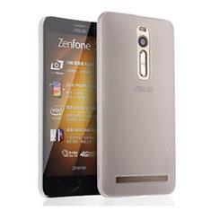 Handyhülle Hülle Ultra Dünn Schutzhülle Durchsichtig Transparent Matt für Asus Zenfone 2 ZE551ML ZE550ML Weiß