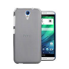 Handyhülle Hülle Ultra Dünn Schutzhülle Durchsichtig Transparent Matt für HTC Desire 620 Grau