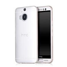 Handyhülle Hülle Ultra Dünn Schutzhülle Durchsichtig Transparent Matt für HTC One M9 Plus Weiß