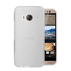 Handyhülle Hülle Ultra Dünn Schutzhülle Durchsichtig Transparent Matt für HTC One Me Weiß