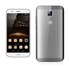 Handyhülle Hülle Ultra Dünn Schutzhülle Durchsichtig Transparent Matt für Huawei G7 Plus Grau