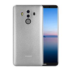 Handyhülle Hülle Ultra Dünn Schutzhülle Durchsichtig Transparent Matt für Huawei Mate 10 Pro Weiß