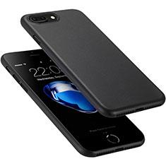 Handyhülle Hülle Ultra Dünn Schutzhülle Matt für Apple iPhone 8 Plus Schwarz
