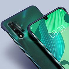 Handyhülle Hülle Ultra Dünn Schutzhülle Tasche Durchsichtig Transparent Matt U01 für Huawei Nova 5 Blau