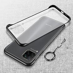 Handyhülle Hülle Ultra Dünn Schutzhülle Tasche Durchsichtig Transparent Matt U01 für Huawei Nova 6 SE Schwarz