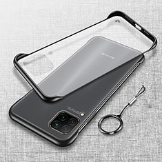 Handyhülle Hülle Ultra Dünn Schutzhülle Tasche Durchsichtig Transparent Matt U01 für Huawei P40 Lite Schwarz