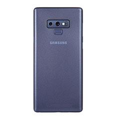 Handyhülle Hülle Ultra Dünn Schutzhülle Tasche Durchsichtig Transparent Matt U01 für Samsung Galaxy Note 9 Blau