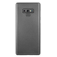 Handyhülle Hülle Ultra Dünn Schutzhülle Tasche Durchsichtig Transparent Matt U01 für Samsung Galaxy Note 9 Schwarz
