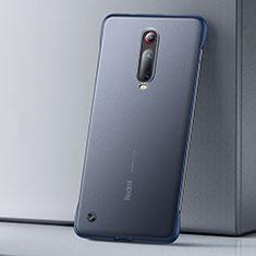 Handyhülle Hülle Ultra Dünn Schutzhülle Tasche Durchsichtig Transparent Matt U01 für Xiaomi Mi 9T Blau