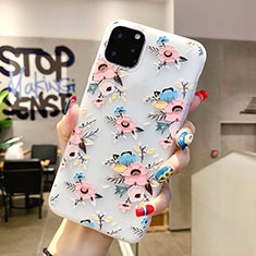 Handyhülle Silikon Hülle Gummi Schutzhülle Blumen H11 für Apple iPhone 11 Pro Max Plusfarbig