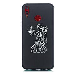 Handyhülle Silikon Hülle Gummi Schutzhülle Konstellation S12 für Huawei Honor View 10 Lite Schwarz