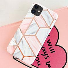 Handyhülle Silikon Hülle Gummi Schutzhülle Modisch Muster S05 für Apple iPhone 11 Rosa