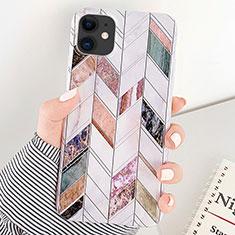 Handyhülle Silikon Hülle Gummi Schutzhülle Modisch Muster S07 für Apple iPhone 11 Plusfarbig