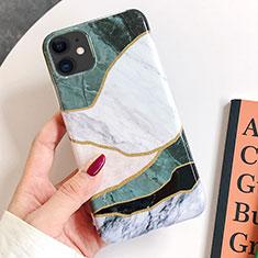 Handyhülle Silikon Hülle Gummi Schutzhülle Modisch Muster S08 für Apple iPhone 11 Grün