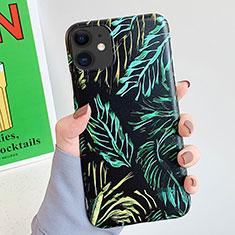 Handyhülle Silikon Hülle Gummi Schutzhülle Modisch Muster S15 für Apple iPhone 11 Schwarz
