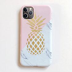 Handyhülle Silikon Hülle Gummi Schutzhülle Obst für Apple iPhone 11 Pro Max Rosa