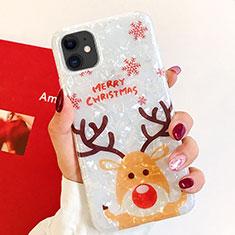 Handyhülle Silikon Hülle Gummi Schutzhülle Weihnachten für Apple iPhone 11 Plusfarbig