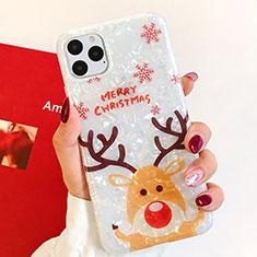 Handyhülle Silikon Hülle Gummi Schutzhülle Weihnachten für Apple iPhone 11 Pro Plusfarbig