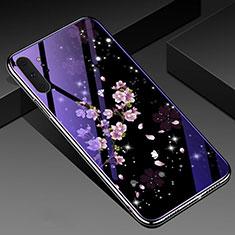 Handyhülle Silikon Hülle Rahmen Schutzhülle Spiegel Blumen K01 für Samsung Galaxy Note 10 Plus 5G Plusfarbig
