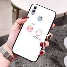 Handyhülle Silikon Hülle Rahmen Schutzhülle Spiegel Liebe Herz für Huawei Honor 10 Lite Weiß