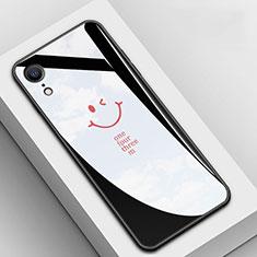 Handyhülle Silikon Hülle Rahmen Schutzhülle Spiegel Modisch Muster für Apple iPhone XR Schwarz