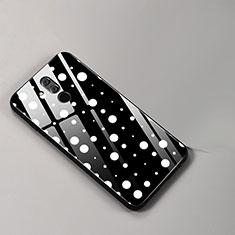 Handyhülle Silikon Hülle Rahmen Schutzhülle Spiegel Modisch Muster für Huawei Mate 20 Lite Plusfarbig