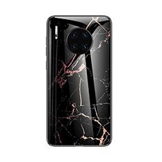 Handyhülle Silikon Hülle Rahmen Schutzhülle Spiegel Modisch Muster für Huawei Mate 30 Schwarz