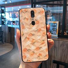 Handyhülle Silikon Hülle Rahmen Schutzhülle Spiegel Modisch Muster für Oppo A9 Gold