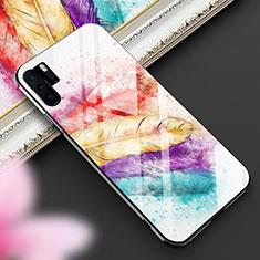 Handyhülle Silikon Hülle Rahmen Schutzhülle Spiegel Modisch Muster K01 für Huawei P30 Pro Bunt