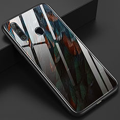 Handyhülle Silikon Hülle Rahmen Schutzhülle Spiegel Modisch Muster K04 für Huawei Honor 20 Lite Braun