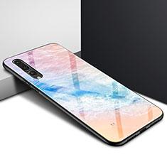 Handyhülle Silikon Hülle Rahmen Schutzhülle Spiegel Modisch Muster K05 für Huawei P20 Pro Bunt