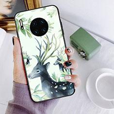 Handyhülle Silikon Hülle Rahmen Schutzhülle Spiegel Modisch Muster S02 für Huawei Mate 30 Pro 5G Plusfarbig