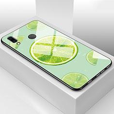Handyhülle Silikon Hülle Rahmen Schutzhülle Spiegel Obst für Huawei Honor 8X Grün