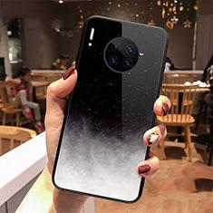 Handyhülle Silikon Hülle Rahmen Schutzhülle Spiegel Sternenhimmel für Huawei Mate 30 5G Schwarz