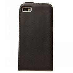 Handytasche Flip Schutzhülle Leder für Blackberry Z10 Schwarz