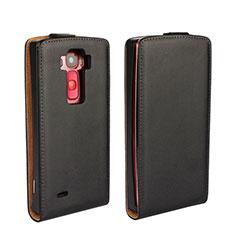 Handytasche Flip Schutzhülle Leder für LG G Flex 2 Schwarz