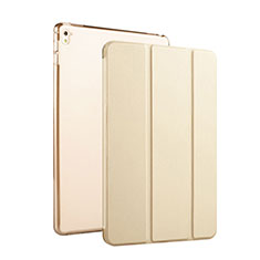 Handytasche Flip Stand Schutzhülle Leder für Apple iPad Pro 9.7 Gold