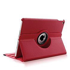 Handytasche Rotierende Schutzhülle Leder für Apple iPad Air 2 Rot