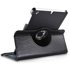 Handytasche Rotierende Schutzhülle Leder für Apple iPad Mini 3 Schwarz