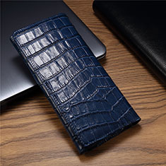 Handytasche Schutzhülle Flip Leder Hülle T01 für Huawei Mate Xs 5G Blau