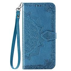 Handytasche Stand Schutzhülle Flip Leder Hülle C01 für Xiaomi Redmi Note 9 Blau