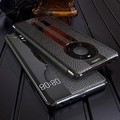 Handytasche Stand Schutzhülle Flip Leder Hülle F05 für Huawei Mate 40 Pro Schwarz