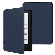 Handytasche Stand Schutzhülle Flip Leder Hülle für Amazon Kindle 6 inch Blau