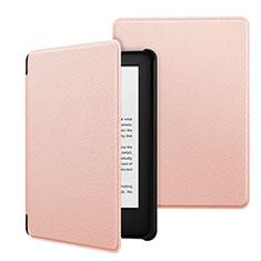 Handytasche Stand Schutzhülle Flip Leder Hülle für Amazon Kindle 6 inch Rosa