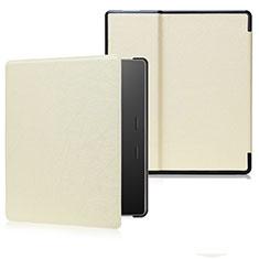 Handytasche Stand Schutzhülle Flip Leder Hülle für Amazon Kindle Oasis 7 inch Gold