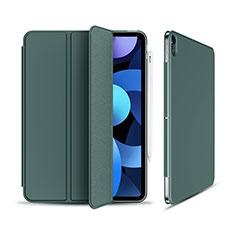 Handytasche Stand Schutzhülle Flip Leder Hülle für Apple iPad Air 10.9 (2020) Grün